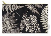 Ferns Carry-all Pouch