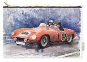 1953-1955 Ferrari 500 Mondial 1000 Miglia Carry-all Pouch by Yuriy Shevchuk