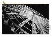 Ferris Wheel Against Black Sky Carry-all Pouch