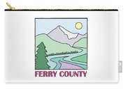 Ferry County II Carry-all Pouch by Sarah Lawrence