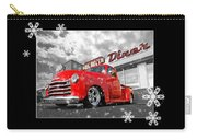 Festive Chevy Truck Carry-all Pouch
