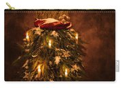 Festive Christmas Vintage Mannequin Carry-all Pouch