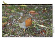 Festive Robin Carry-all Pouch