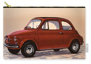 Fiat 500 1957 Painting Carry-all Pouch