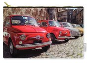 Fiat 500's In Bracciano Italy Carry-all Pouch