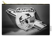 Fiat Abarth Emblem -ck1611bw2 Carry-all Pouch