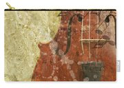 Fiddle In Grunge Style Carry-all Pouch
