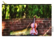 Fiddle On The Garden Wall Carry-all Pouch
