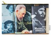 Fidel At The Used Book Sellers Market Carry-all Pouch