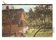 Field At Varengeville Carry-all Pouch by Camille Pissarro