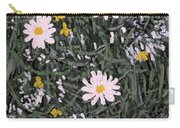 Field Daisies Carry-all Pouch