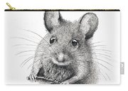 Field Mouse Or Meadow Vole Carry-all Pouch