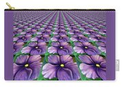 Field Of African Violets Carry-all Pouch