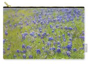 Field Of Blue Bonnet Flowers Carry-all Pouch
