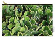 Field Of Cactus Paddles Carry-all Pouch