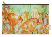 Field Of California Poppies Carry-all Pouch