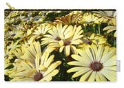 Field Of Daisies Landscape Floral Art Prints Daisy Baslee Troutman Carry-all Pouch