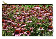 Field Of Echinacea Carry-all Pouch