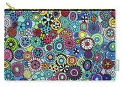 Field Of Blooms Carry-all Pouch