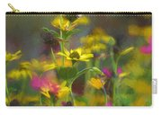 Field Of Flowers Paint Carry-all Pouch