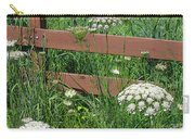 Field Of Lace Carry-all Pouch