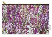 Field Of Multi-colored Flowers Carry-all Pouch