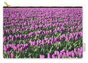 Field Of Purple Flowers Carry-all Pouch