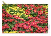 Field Of Red And Yellow Flowers Carry-all Pouch