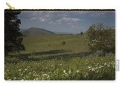 Field Of White Flowers Carry-all Pouch
