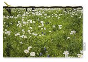 Field Of White Poppies Carry-all Pouch