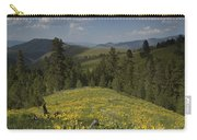 Field Of Yellow Flowers Carry-all Pouch