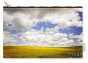 Field With Dramatic Sky. Carry-all Pouch