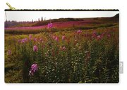 Fields In Pink Carry-all Pouch