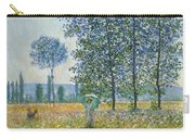 Fields In Spring, 1887 Carry-all Pouch