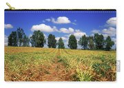 Fields Of Chopped Flowers At Nir Banim Carry-all Pouch