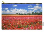 Fields Of Flowers At Nir Banim Carry-all Pouch