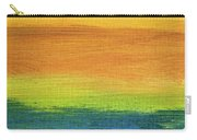 Fields Of Gold 1 - Abstract Summer Landscape Painting Carry-all Pouch