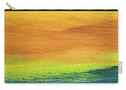 Fields Of Gold 2 - Abstract Summer Landscape Painting Carry-all Pouch