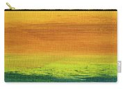 Fields Of Gold 3 - Abstract Summer Landscape Painting Carry-all Pouch
