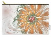 Fiery Chrysanthemum Carry-all Pouch