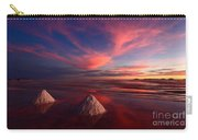 Fiery Clouds Over The Salar De Uyuni Carry-all Pouch