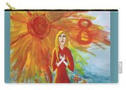 Fiery Eight Of Swords Illustrated Carry-all Pouch