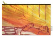 Fiery Four Of Swords Illustrated Carry-all Pouch