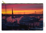 Fiery Harbor Carry-all Pouch