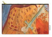 Fiery King Of Swords Carry-all Pouch