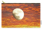 Fiery Moon Carry-all Pouch