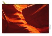 Fiery Sandstone Abstract Carry-all Pouch