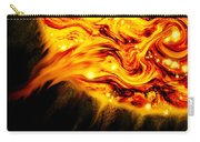 Fiery Sun Erupting With M1.7 Class Solar Flare Carry-all Pouch