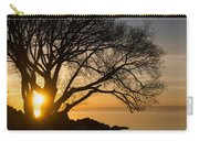 Fiery Sunrise - Like A Golden Portal To Another World Carry-all Pouch
