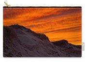 Fiery Sunset Over The Dunes Carry-all Pouch